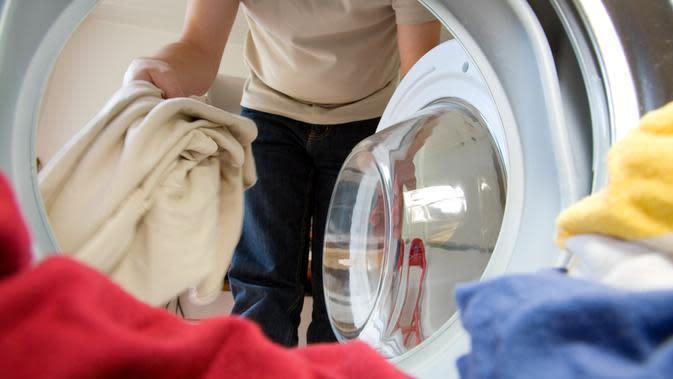Ilustrasi mesin cuci   iStockphoto