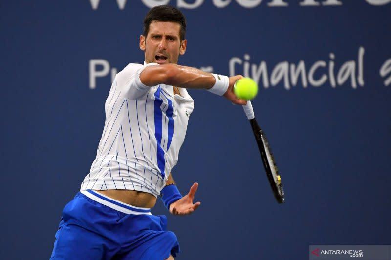 Djokovic sempat kesulitan untuk lalui laga perdana US Open