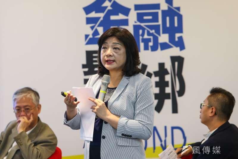 20200912-前金管會主委王儷玲12日出席「突破論壇─金融鬆綁,中小企業資本市場復興運動」。(顏麟宇攝)