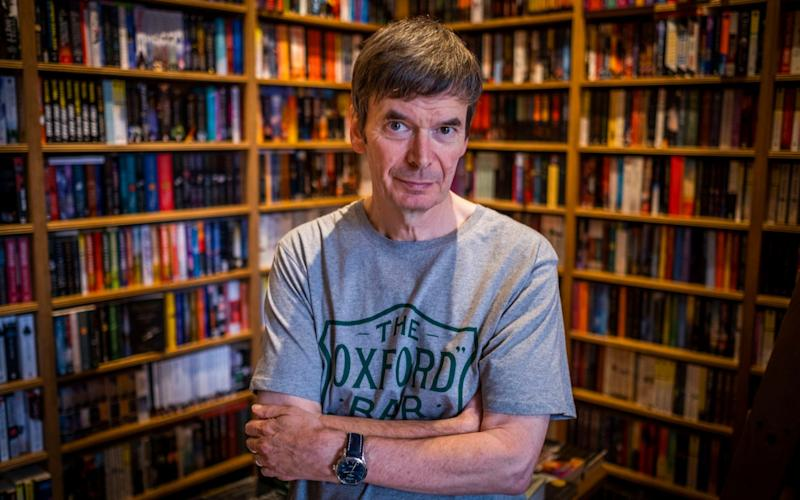 Ian Rankin finds solace in writing - Chris Watt Photography