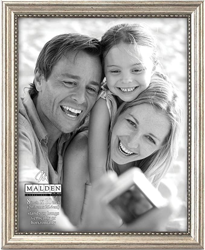 Malden International Designs Classic Wood Picture Frame. Image via Amazon.