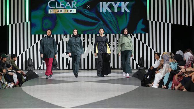 © CLEAR Hijab Pure x IKYK