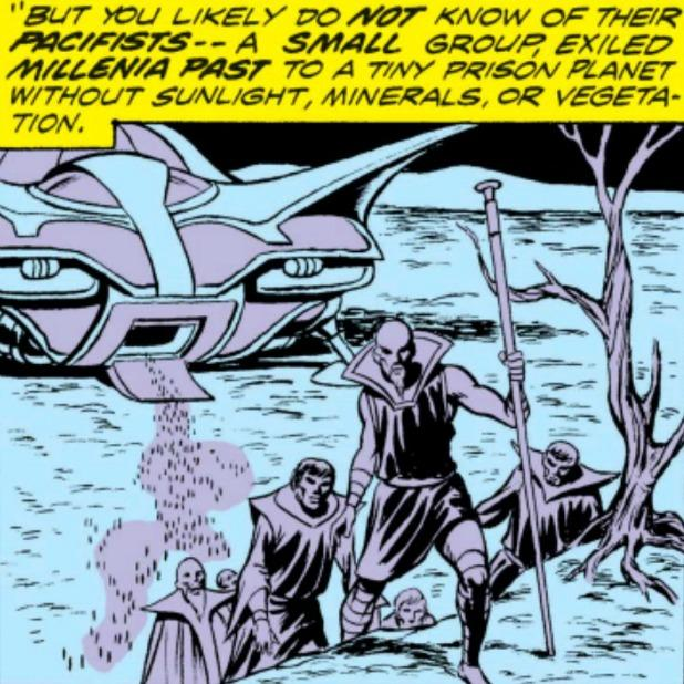 prison planet for kree pcifists avengers infinity war vormir