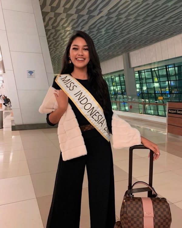 10 Potret Princess Megonondo yang Wakili Indonesia di Ajang Miss World