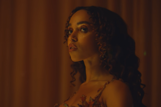 FKA twigs in her video for 'Cellophane' (YouTube/Screengrab)