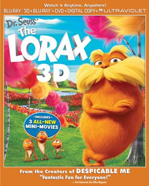 Yahoo! Movies Giveaway: 'Dr. Seuss' The Lorax' Blu-ray Prize Pack