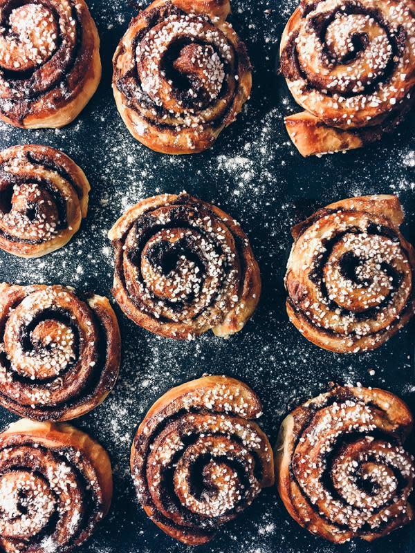 Cinnamon rolls (sumber: unsplash)