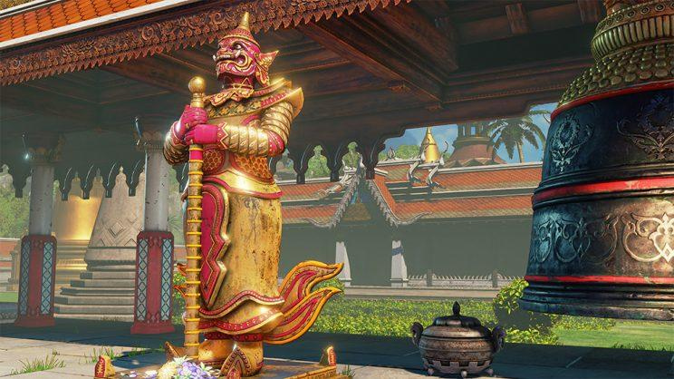 Street Fighter V's remastered Thailand stage