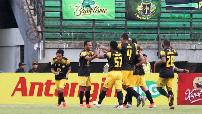 Barito Putera di Liga 1 2019. (Bola.com/Aditya Wany)