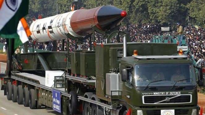 VIVA Militer: Rudal nuklir antarbenua India, Agni-VI