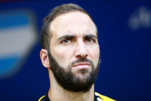 On the move: Argentina's Gonzalo Higuain has joined  AC Milan from Juventus