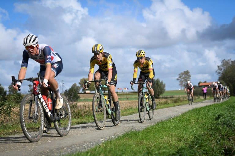 Mads Pedersen wins Belgian cobbled classic Gent-Wevelgem