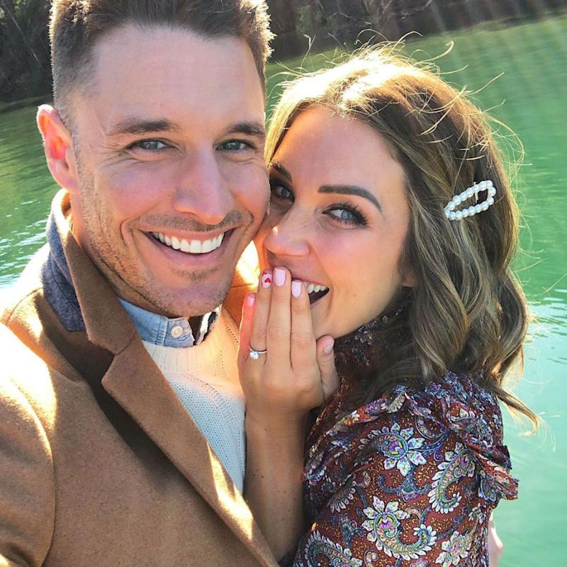 The Bachelorette Georgia Love and Lee are engaged