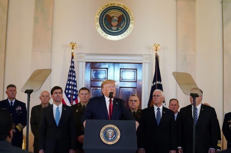 Trump:  AS tidak harus menggunakan militer untuk melawan Iran