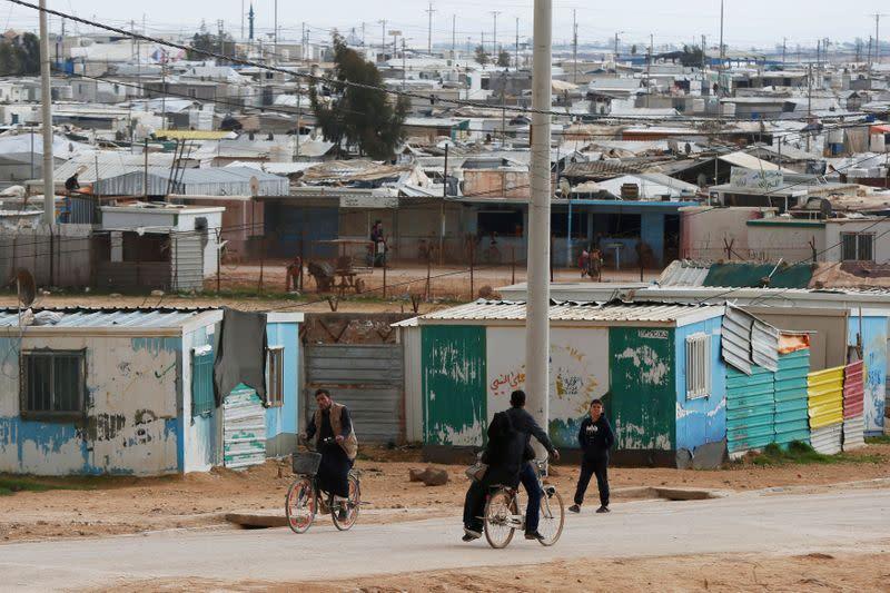 U.N. steps up COVID-19 measures at Syrian refugee camps in Jordan