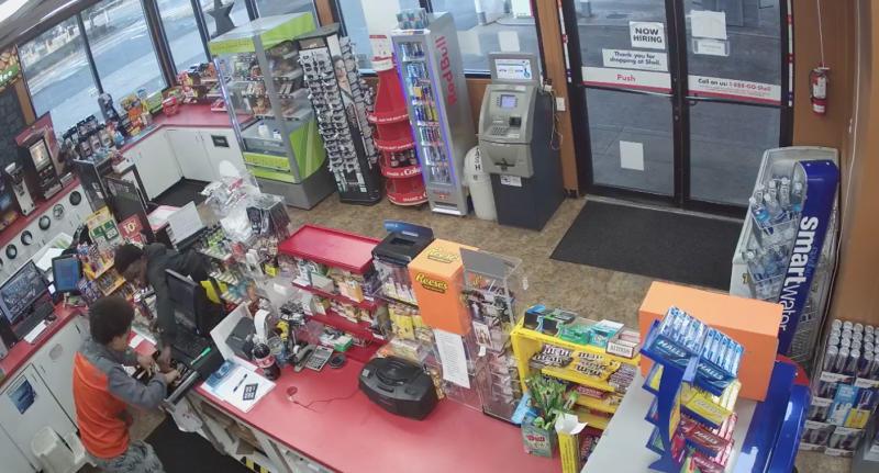 Two teens robbed the Washington petrol station