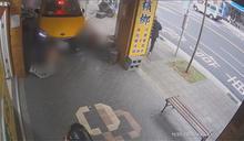 小黃衝騎樓撞傷人 運將稱為閃避單車騎士