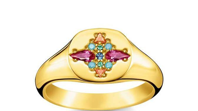Ring colourful stones, from £149,/dok. Thomas Sabo