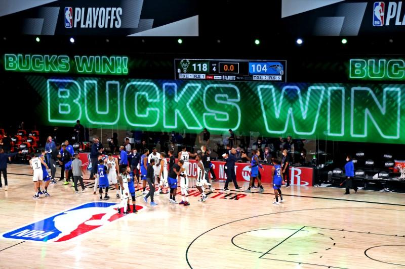 Bucks finish off Magic to reach Eastern semifinals