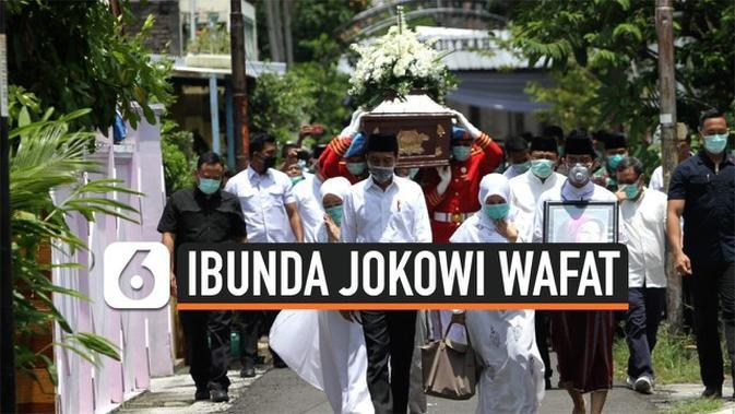 VIDEO: Langkah Jokowi Dampingi Jenazah Ibunda ke Pemakaman