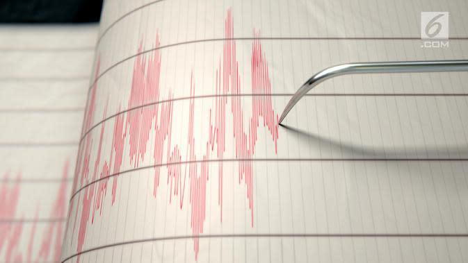BMKG Sebut Gempa Magnitudo 4,8 Guncang Morowali Sulteng Berjenis Dangkal