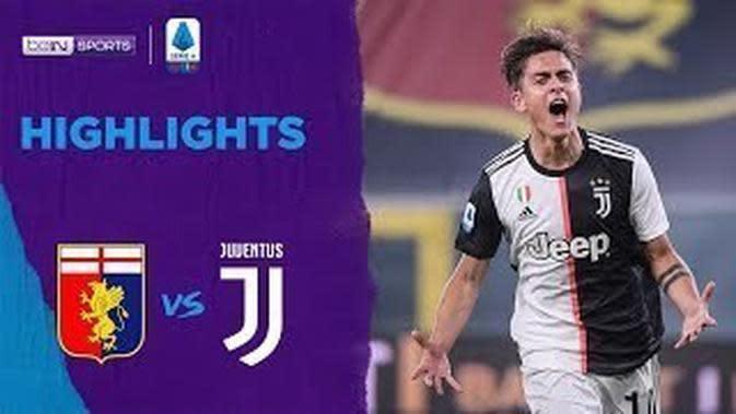 VIDEO: Highlights Serie A, Gol Cantik Douglas Costa Tutup Kemenangan Juventus Vs Genoa