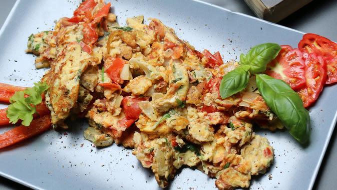 Ilustrasi telur orak-arik (dok. Pixabay.com/Schmunzelfee/Putu Elmira)