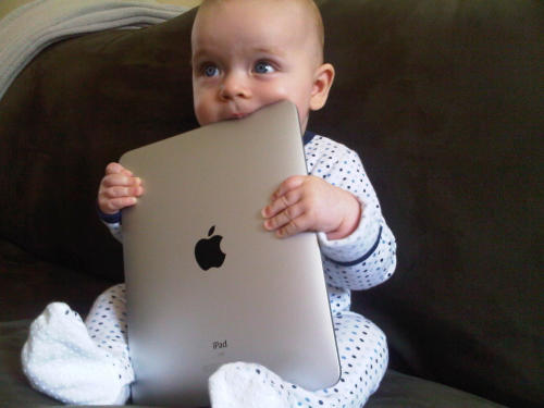 Why you shouldn't share your iPhone or iPad with your young child