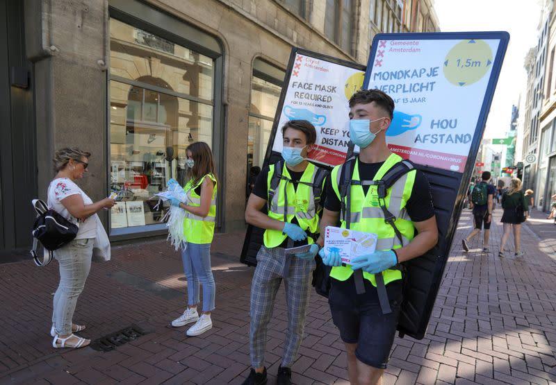 Dutch coronavirus cases spike as test capacity seen at risk