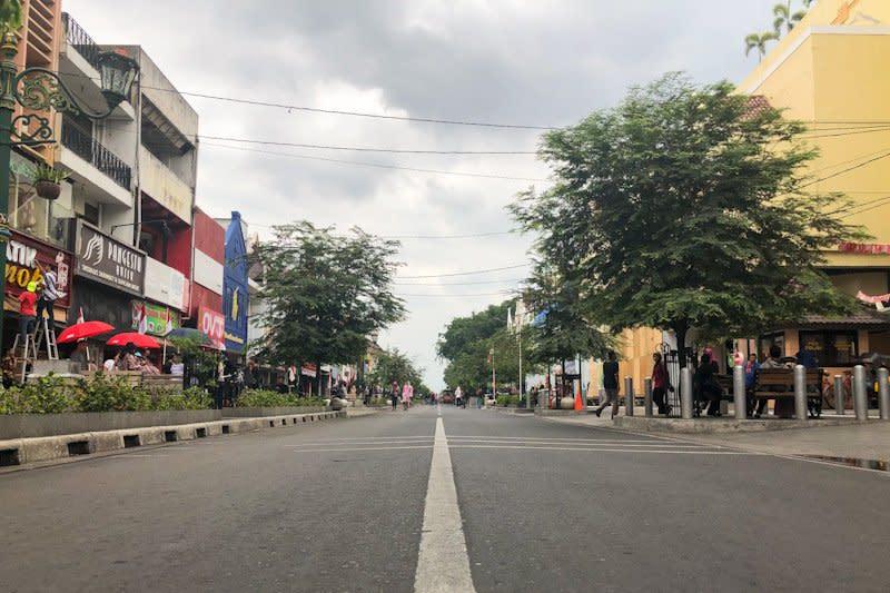 Waktu uji coba semi pedestrian Malioboro ditambah