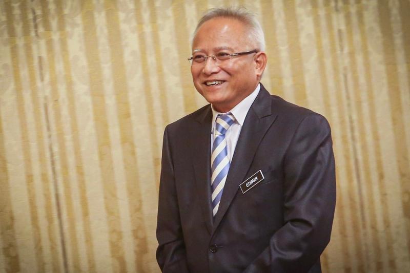 Felda director-general Datuk Othman Omar at the Anti-Corruption and Integrity 2019 forum in Kuala Lumpur September 17, 2019. — Picture by Hari Anggara