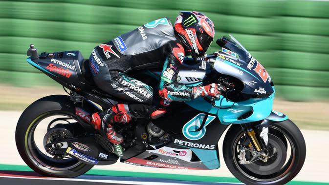 FP1 MotoGP Catalunya: Yamaha Masih Kencang, Fabio Quartararo Tercepat