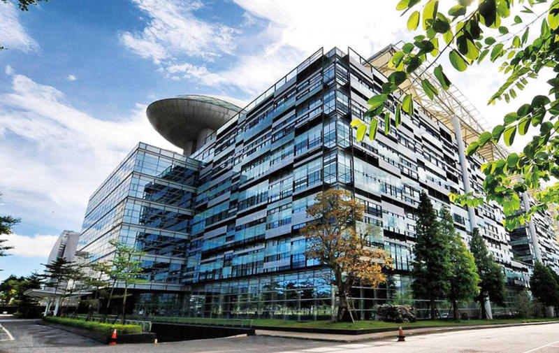 耗資50億元打造的廣達總部,占地6萬坪、可容納7千名工程師。(圖/翻攝自廣達電腦官網)