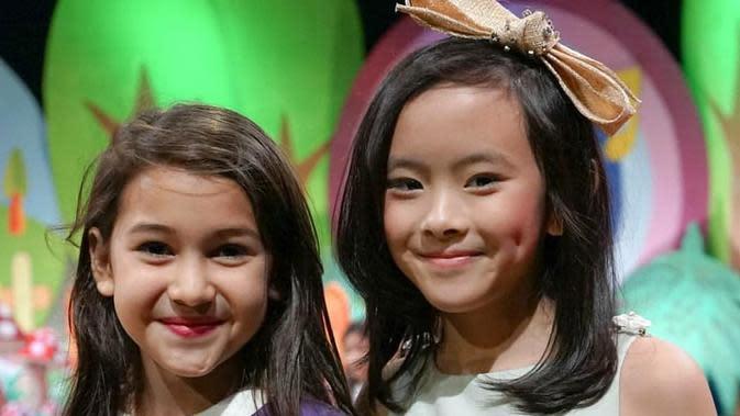 Potret Persahabatan Sandrinna Michelle dan Clarice Cutie. (Sumber: Instagram.com/claricecutie)