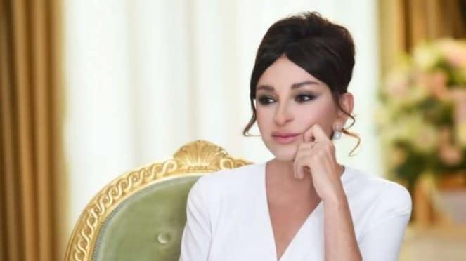 VIVA Militer: Istri Presiden dan Wakil Presiden Azerbaijan, Mehriban Eliyeva