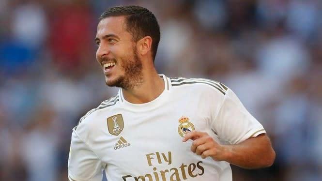 Madrid Harap-harap Cemas Soal Hazard, Bakal Absen Lagi di El Clasico?