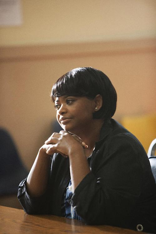 "This publicity photo released by The Weinstein Company shows Octavia Spencer in a scene from the film, ""Fruitvale Station."" (AP Photo/The Weinstein Company, Ron Koeberer)"