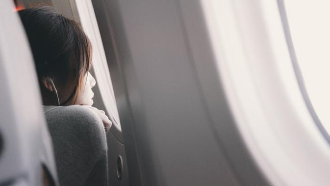Ilustrasi penumpang pesawat (Dok.Unsplash)