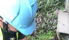 彰化橙燈減量供水 自來水11區處會同彰化縣政府針對未達限水目標戶進行鉛封減供作業