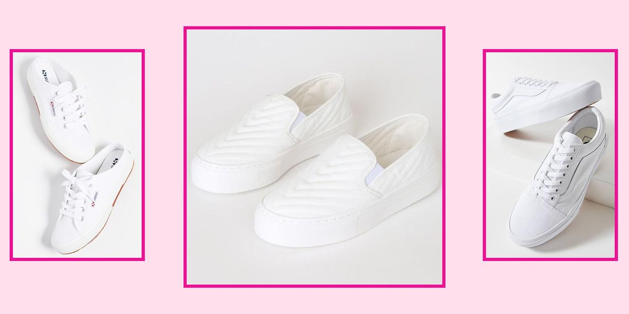 "<p>Classic white sneakers are a wardrobe essential. This is NOT up for debate. They might be overlooked as basic, but once you find the right pair, they can truly be the most versatile shoe you own. Not only are they timeless, comfortable, and <a href=""//www.seventeen.com/fashion/style-advice/g32688825/white-sneaker-outfits/"" target=""_blank"">easy to style</a>, but you can rock these bad boys all year long regardless of the season. I'm serious. </p><p>White sneaks match perfectly with your favorite sundress, are ideal with jeans in the fall, and can be worn with fleece-lined leggings come wintertime. With so many different styles, there's a pair that's bound to fit your taste and budget. Narrowing down to just 18 standout styles was tough, but because these are all under $100, they made the final cut. So what are you waiting for? Scroll ahead to shop classic white sneakers that are cute and affordable.<br></p>"