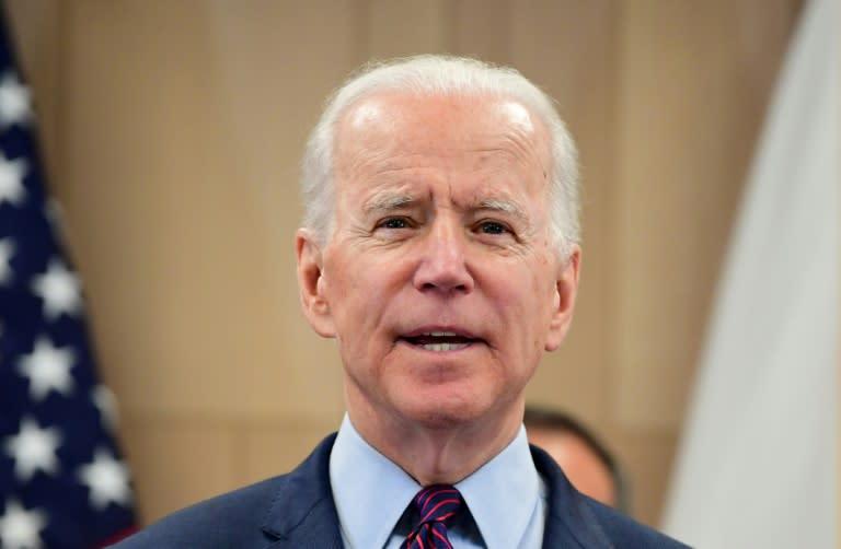 Democratic presidential hopeful Joe Biden is riding high after his Super Tuesday success