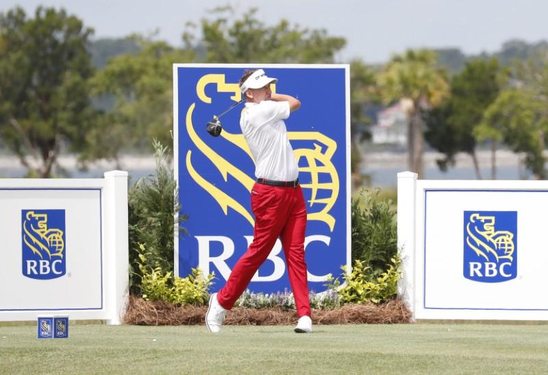 Golf: Poulter, Hubbard share early lead at RBC Heritage