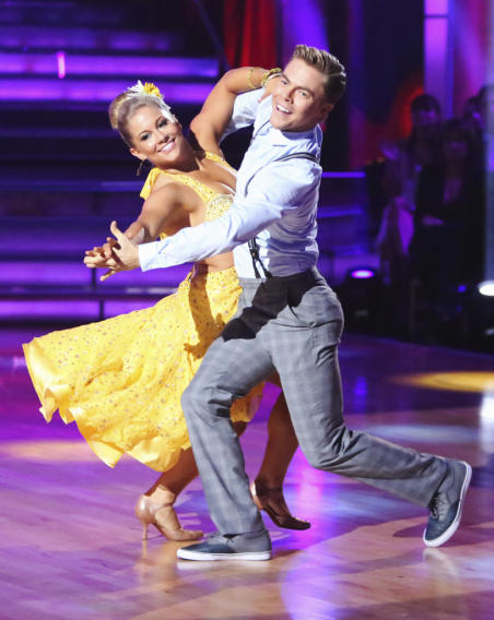 Shawn Johnson and Derek Hough (9/24/12)