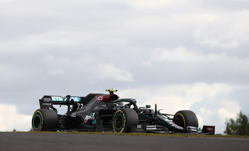 Motor racing: Bottas retires from the Eifel Grand Prix
