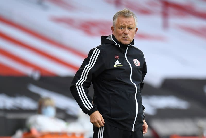 Sheffield United's Wilder plays down European ambitions