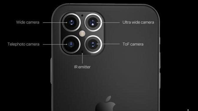 Gambar render iPhone 12. (Doc: Phone Arena)