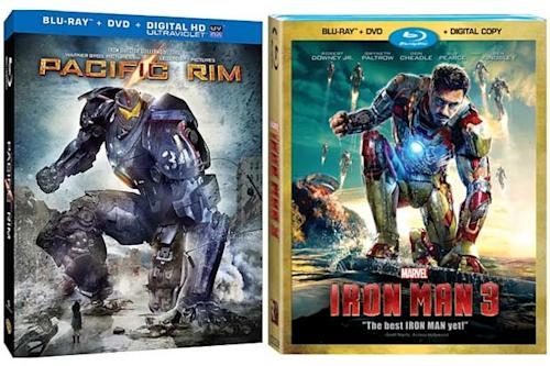 'Pacific Rim' Blu-Ray Cover Strikes an 'Iron Man 3′ Pose (Photo)