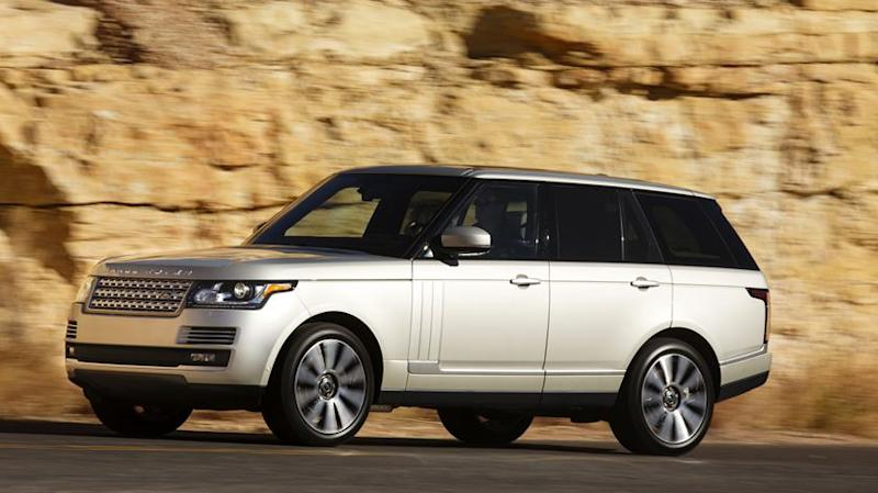 Feigning royalty in a 2013 Range Rover: Motoramic Family Drive