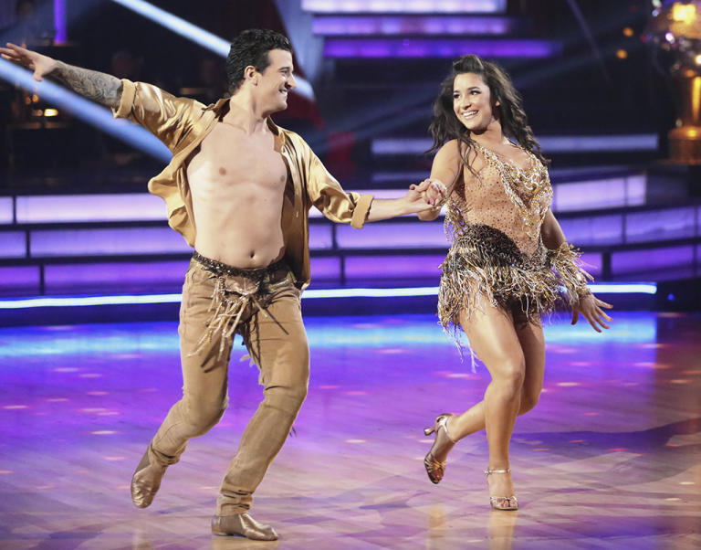 Mark Ballas and Alexandra Raisman (5/20/13)