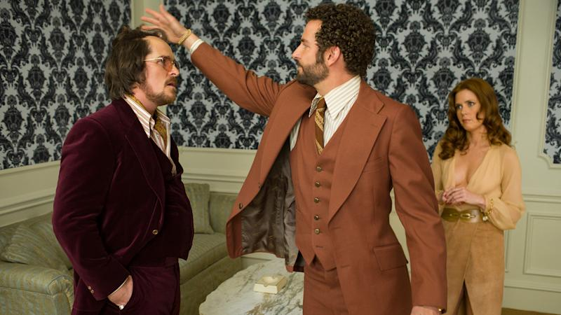 How Christian Bale's Combover Inspired the Opening of 'American Hustle'